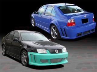 GTR Style Complete Bodykit For Volkswagen Jetta 1999-2004