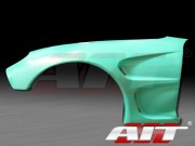 D1 Style Front Fenders For Mazda RX-7 1993-1997