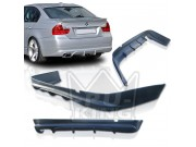BMW E90 06-08 Sedan AC Style Rear Bumper Lip