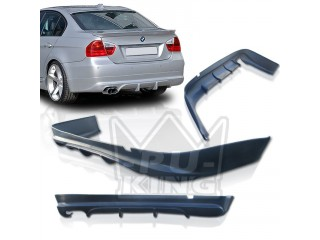BMW E90 06-08 Sedan AC Style Side Skirt Bumper Lip