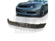 Infiniti G35 03-07 Coupe Gialla Front Bumper Lip