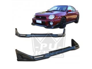Subaru Impreza 02-03 WRX Sport Type Front Bumper Lip