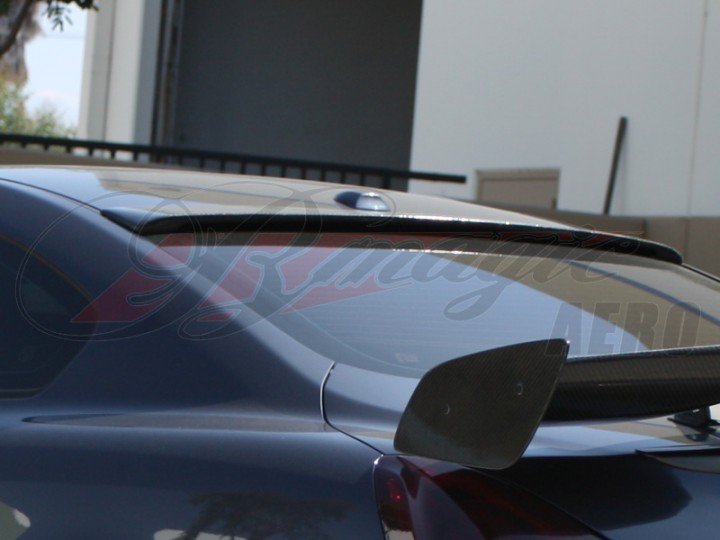 Dsr Style Carbon Fiber Rear Roof Wing For 2008 2012 Infiniti G37 Coupe