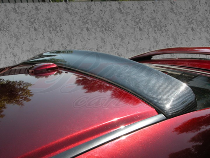 Dsr Style Carbon Fiber Rear Roof Spoiler For Honda Accord