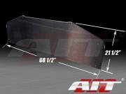 Universal Carbon Diffuser 21.5 inch X 68.5 inch - Round Corner