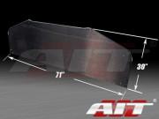 Universal Carbon Diffuser 30 inch X 71 inch - Round Corner