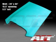 Universal Roof / Hood Scoop - type 1