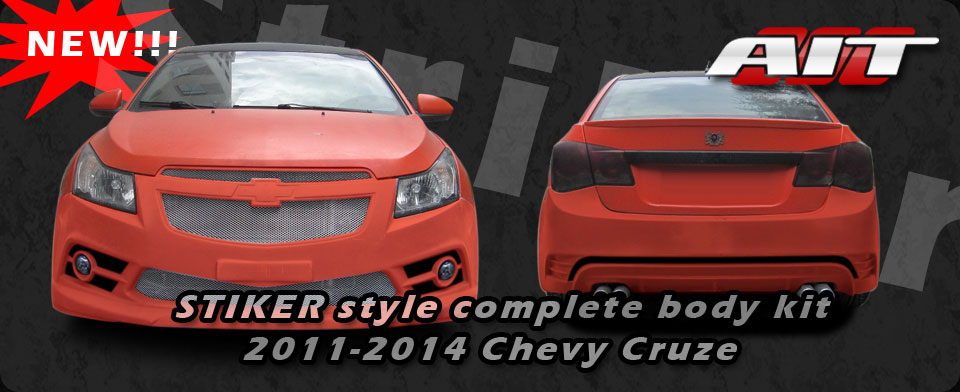 Chevy Cruze Stiker Body Kit